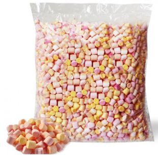 Forest fairy Tale, 600 g, Chewable marshmallow Multicolour with orange, strawberry and peach flavours
