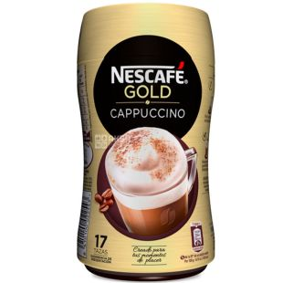 Nescafe Gold Cappuccino, 250 г, Кофейный напиток Нескафе Голд, растворимый