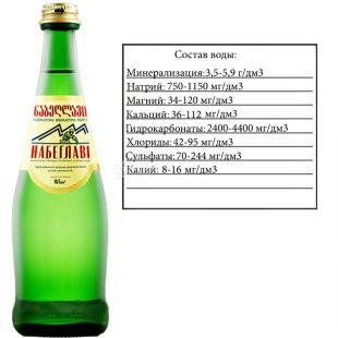 Nabeghlavi, 0,5 л, Набеглави, Вода минеральная сильногазированная, стекло