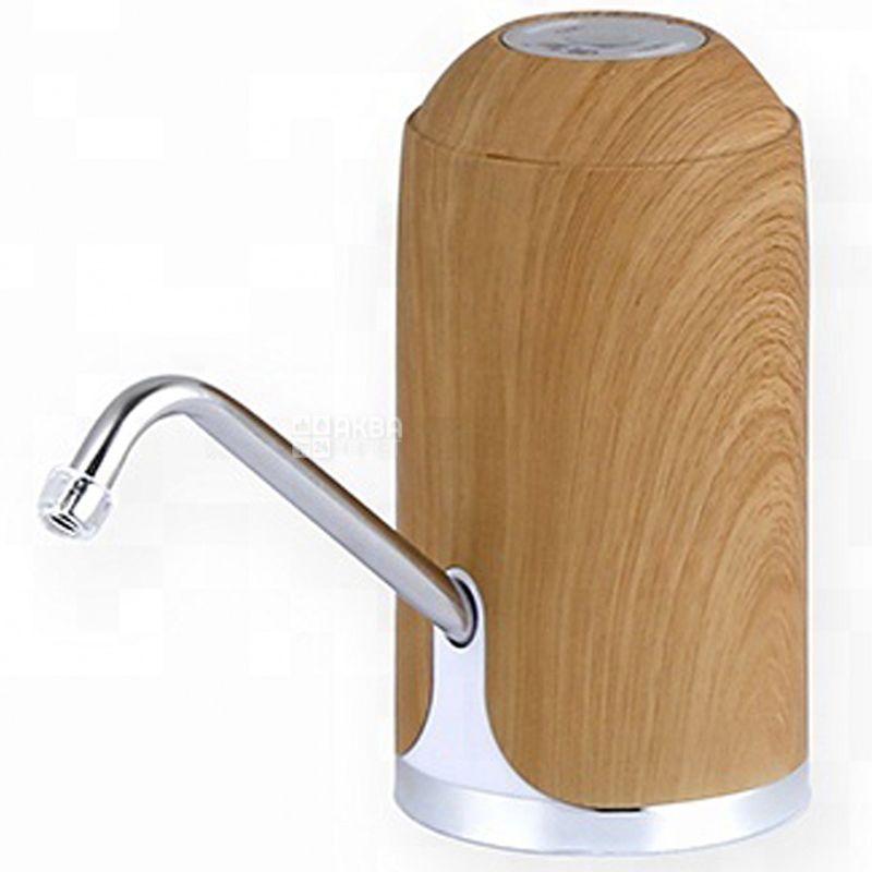 ViO E5 light wood, Помпа для воды электрическая USB, светлое дерево