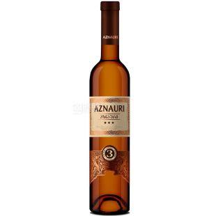 Aznauri, 0,5 л, Коньяк Азнаури, 3 звезды