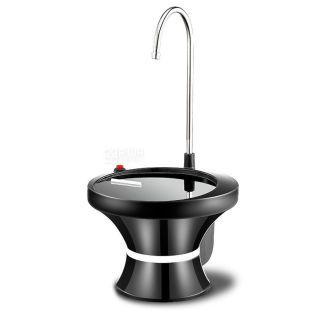 ViO E3 black, Помпа электрическая для воды в 19л бутылях, черная