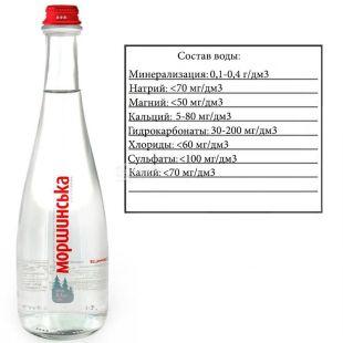 Моршинская Premium, 0,5 л, Вода минеральная негазированная, стекло