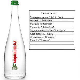 Моршинська Premium, 0,75 л, Вода мінеральна слабогазована, скло