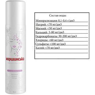Morshinska, 50 ml, Spray-mineral water, w / w