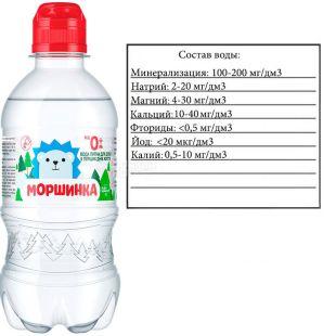 Моршинка Спорт, 0,33 л, Вода дитяча негазована, з перших днів життя, ПЕТ, ПЕТ