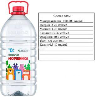 Morshinka non-carbonated water for children, 6 l, PET, PAT