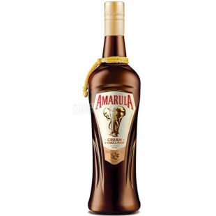 Amarula Marula Fruit Cream, 0.7 l, 17%, Amarula cream liqueur