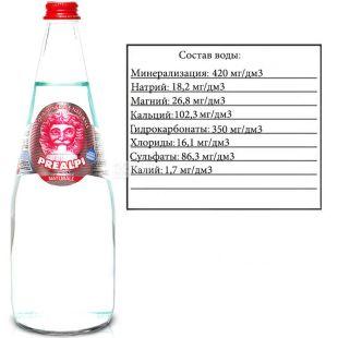 Fonti Prealpi, 0,75 л, Фонті Преалпі, Вода мінеральна, негазована, скло