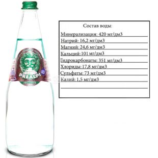 Fonti Prealpi, 0,75 л, Фонти Преалпи, Вода минеральная вода, газированная, стекло