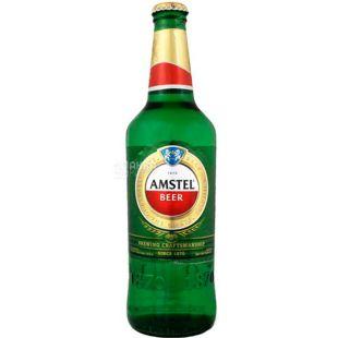 Amstel Premium Pilsener, Amstel Premium beer, light, 5%, 0.5 l, glass