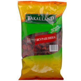 Bakalland, 400 г, Клюква сушеная Бакалланд