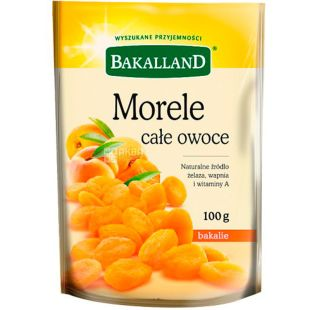 Bakalland, 100 g, Dried apricots Bakalland