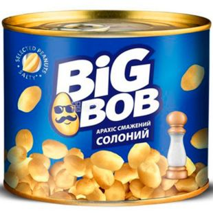 Big Bob, 120 г, Арахис жареный Биг Боб, соленый