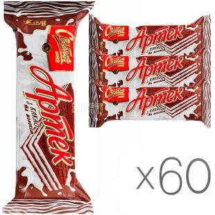 Свиточ, упаковка 60 шт., по 80 г, Вафли Артек, со вкусом какао и молока