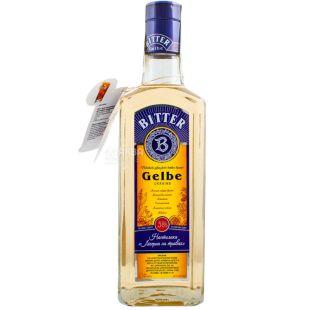 Bitter Gelbe, Биттер Гелб, Настойка ликерная, на травах, 0,5 л