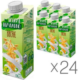 Ideal Non-Milk, 250 g, Oat Drink 2.5%, packaging 24 pcs.