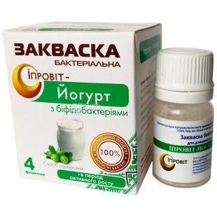 Ипровит, 2 г, Бактериальная закваска, Йогурт с бифидобактериями
