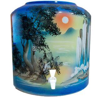 Dispenser, Waterfall, blue