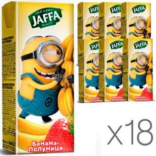 Jaffa, упаковка 18 шт., по 0,2 л,  Джаффа, Нектар Миньоны, Бананово-клубничный