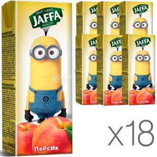 Jaffa, упаковка 18 шт., по 0,2 л, Джаффа, Нектар Миньоны, Персиковый