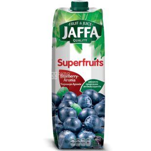 Jaffa, Superfruits, Черника-Арония, 0,95 л, Джаффа, Сок натуральный