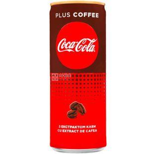 Coca-Cola Zero Coffee, 0,25 л, Кока-Кола Кава, Вода солодка з екстрактом кави