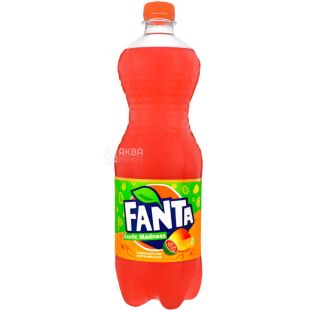 Fanta, Mango Guava, 1 L, Fanta, Sweet water with natural juice