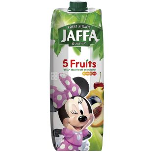 Jaffa 5 Fruits, 0,95 л, Джаффа, Нектар натуральный 5 фруктов, Микки Маус