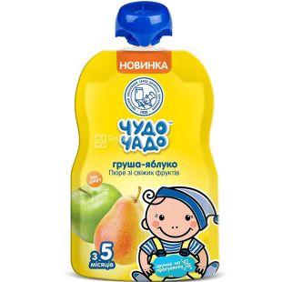 Miracle-Chado, 90 g, Apple-Pear puree, sugar free