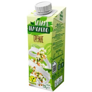 Идеаль Немолоко, 250 г, Напиток гречневый, 2,5%