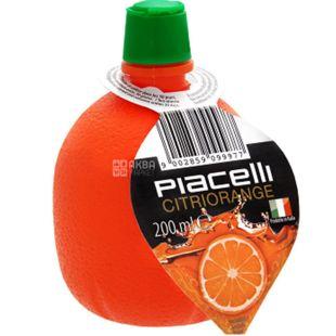 Piacelli Citriorange, 0,2 л, Піачеллі, Сік, концентрований