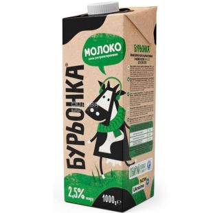 Burenka, 1 l, 2.5%, Milk, Ultra Pasteurized