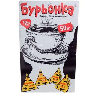 Cream Burenka 10% Ultrapasteurized Packaging 50 pcs. on 20 g