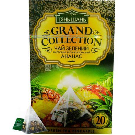 Тянь-Шань, Pineapple, 20 пак., Чай з ананасом, зелений