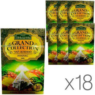 Тянь Шань, Pineapple, 20 пак., Чай с ананасом, зеленый, упаковка 18 шт.