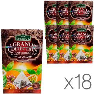 Тянь Шань, Passion fruit, 20 пак., Чай, Плод страсти, черный, упаковка 18 шт.