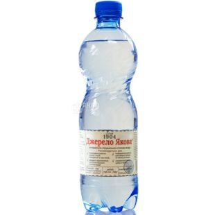 Джерело Якова, 0,5 л, слабогазированная вода, ПЭТ