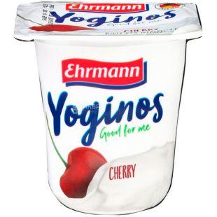 Ehrmann, 100 г, Ерман, Йогурт обезжиренный, Малина-вишня, 0,1%