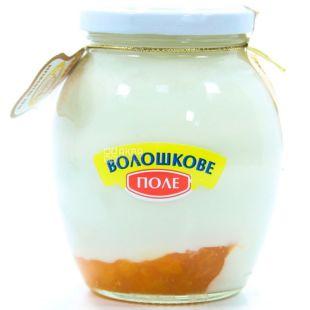 Волошкове поле, 350 г, Йогурт десертный, Абрикос, 2,8%