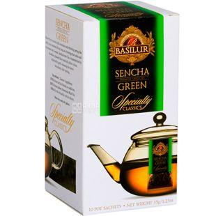 Basilur Sencha, 10 пак., Базилур, Сенча, Чай зелений