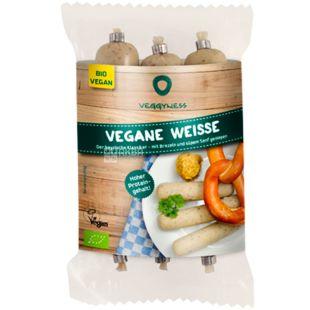 Veggyness, 175 g, Vegan sausages, Bavarian
