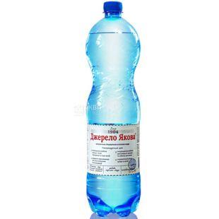 Dzherelo Yakov, 1,5 l, mineral water slightly carbonated, PET