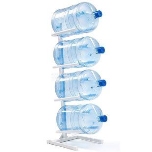 ViO, Подставка под 4 бутыли, металлическая, белая