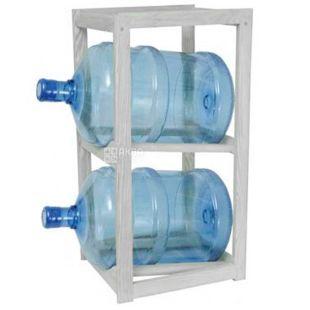 ViO, Подставка деревянная WS-2, под 2 бутыли, белая