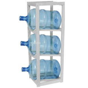 ViO, Подставка деревянная WS-3, под 3 бутыли, белая