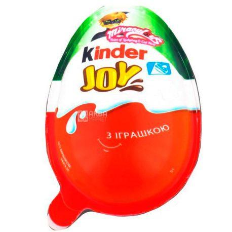 Kinder Joy, 20 г, Киндер Джой, Яйцо с игрушкой