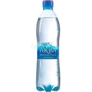 Aqua Minerale, 0,5 л, Аква Минерале, Вода минеральная сильногазированная, ПЭТ