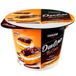 Danone, Даніссімо, 230 г, Данон, Десерт сирний двошаровий Еклер, 6%