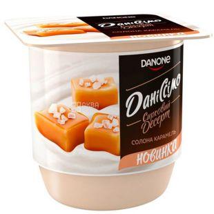 Danone, Даниссимо, 125 г, Данон, Десерт творожный, Соленая карамель, 3,2%